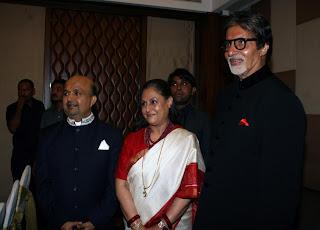 Sameer, Jaya and Amitabh Bachchan