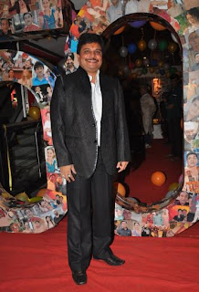 Asit Kumarr Modi at 500 episodes celebration party of TMKOC