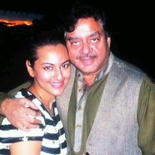 Sonakshi with her father Shatrughan Sinha