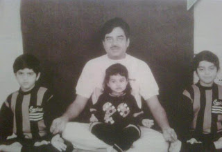 Sonakshi as child