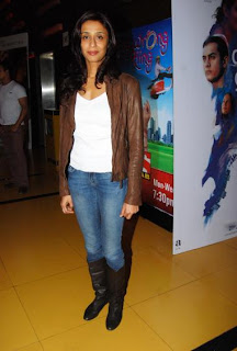 Achint Kaur at the premier of horror film Kaalo