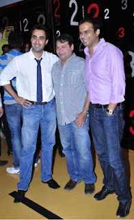 Ranvir Shorey Suresh Menon and siddharth kannan