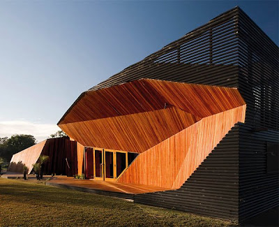 Modern Wooden Home Unfolds