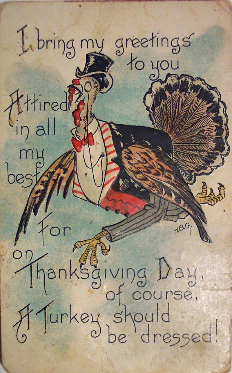 Vintage Thanksgiving Photos 26
