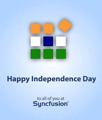my creativz syncfusion independence day