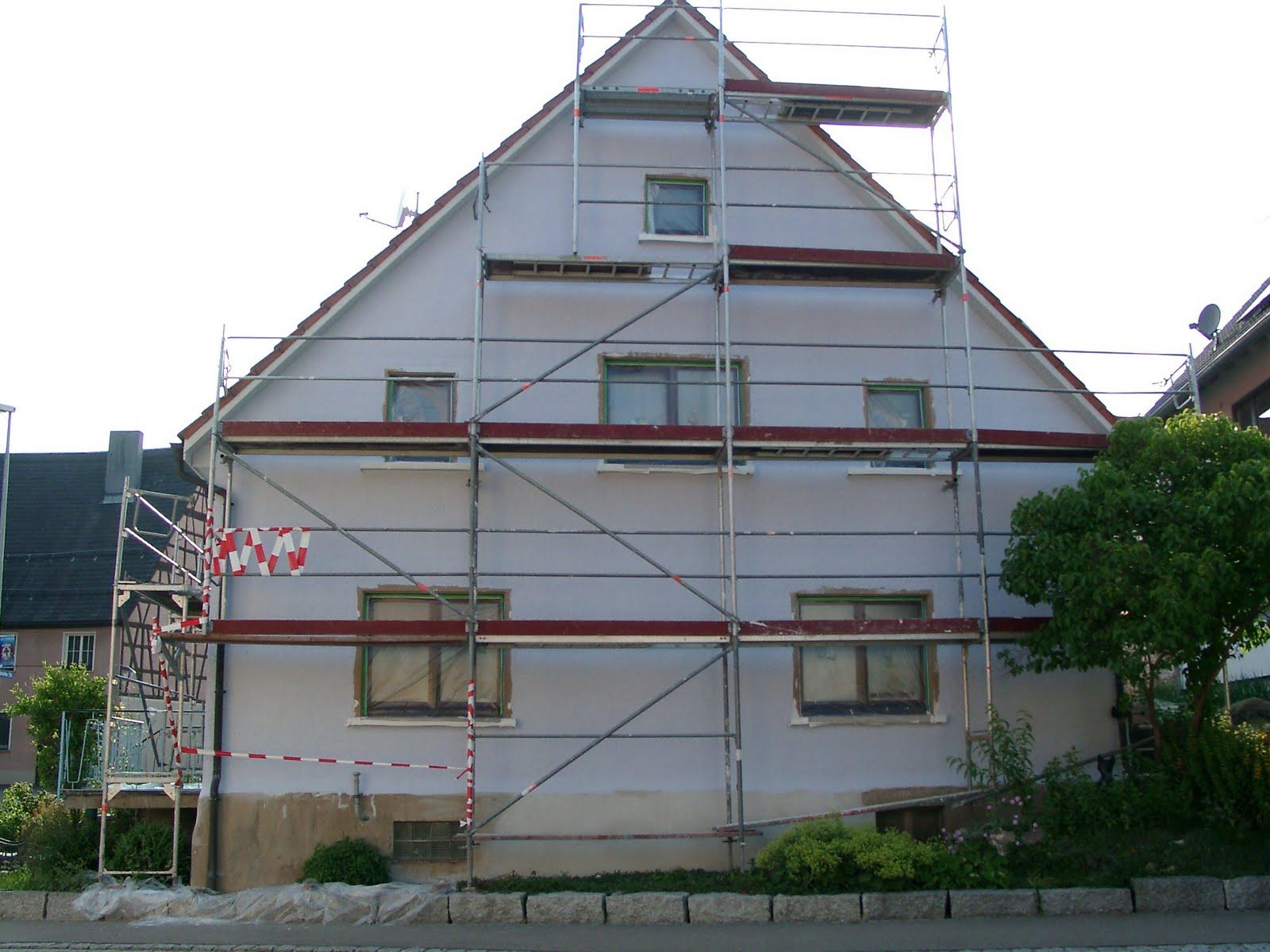 Kunstmaler Claus Schrag: Hauswandgestaltung