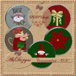 Christmas Buttons - CU PSP SCRIPT (AloDezigns) AloDezigns+GlasButton+with+Tubes+Preview