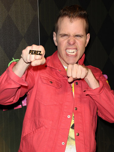 The blogger notoriously known for celebrity gossip is Perez Hilton.