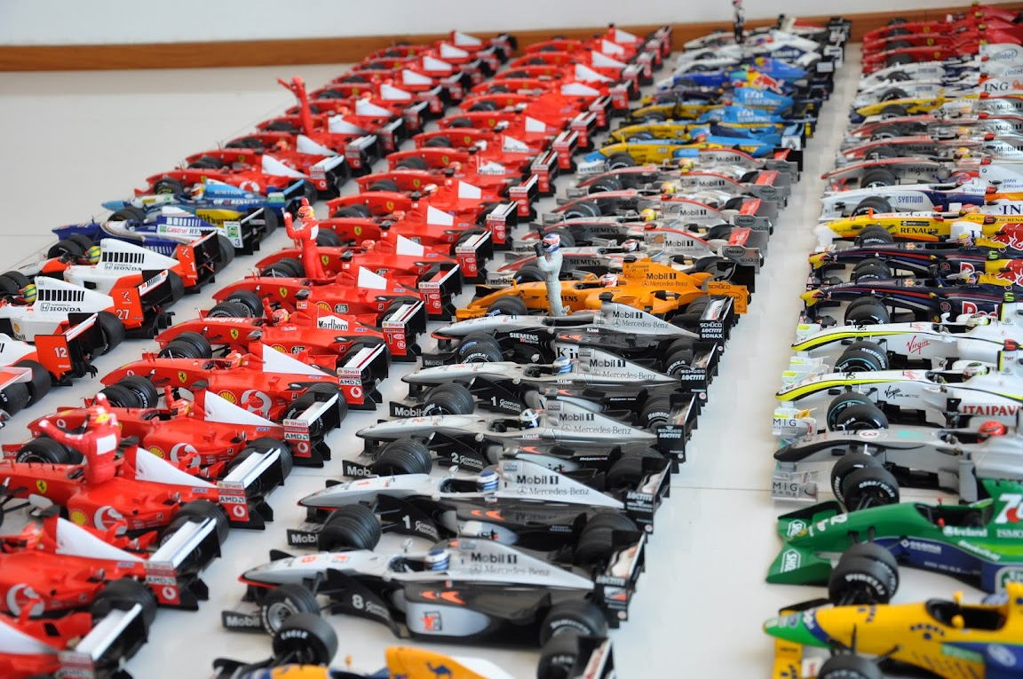 Formula 1 Humour F1 Collection 100 Cars