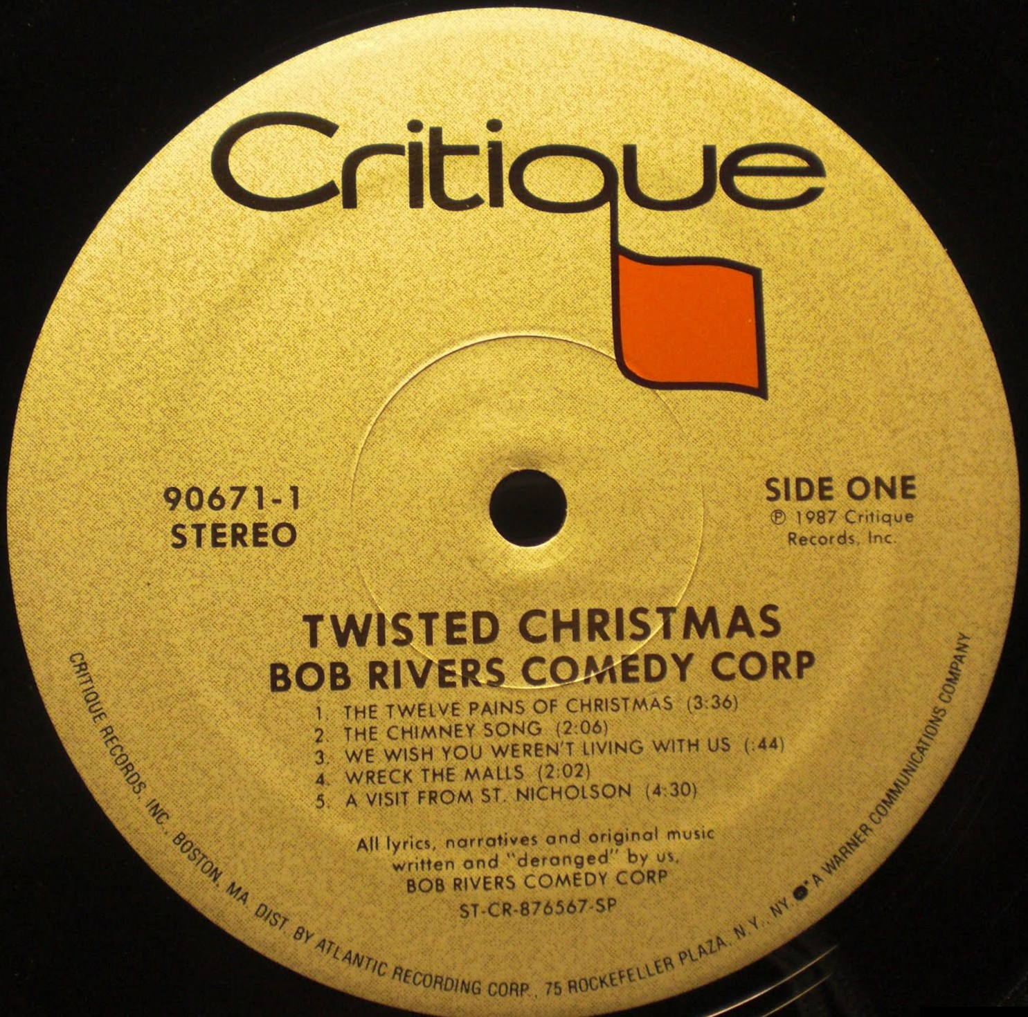 recordo obscura: the soundtrack of nobody's life: TWISTED CHRISTMAS