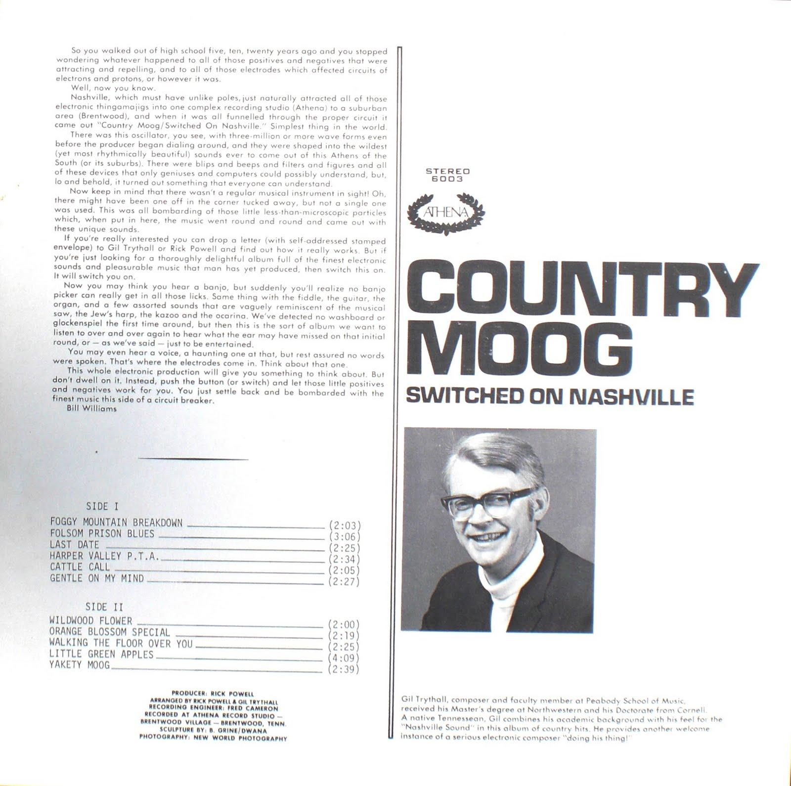 Gil Trythall - Yakety Moog / Foggy Mountain Breakdown