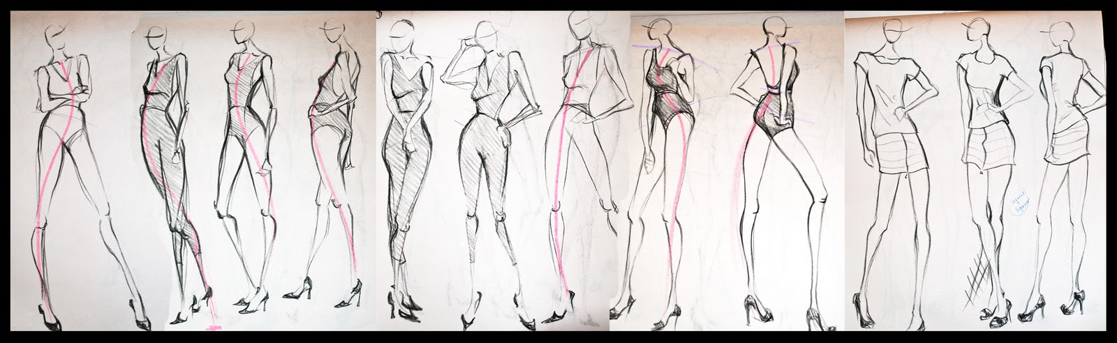 How to draw sketches for fashion design