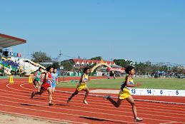 ประมวลภาพการแข่งขันกรีฑา เมืองช้างเกมส์ 26 ม.ค.53
