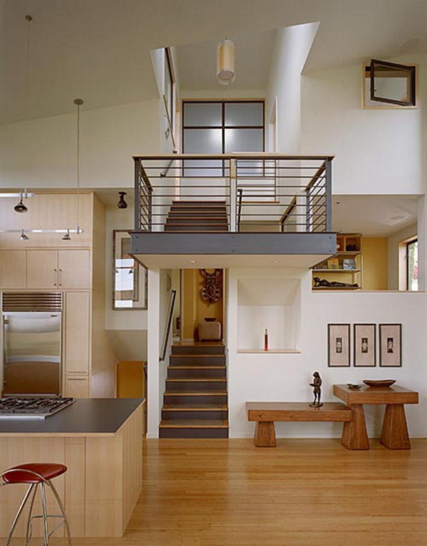Modern split level home design architecture and interior decor homecod - Modern home design interior ...