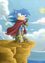 Ray the hedgehog