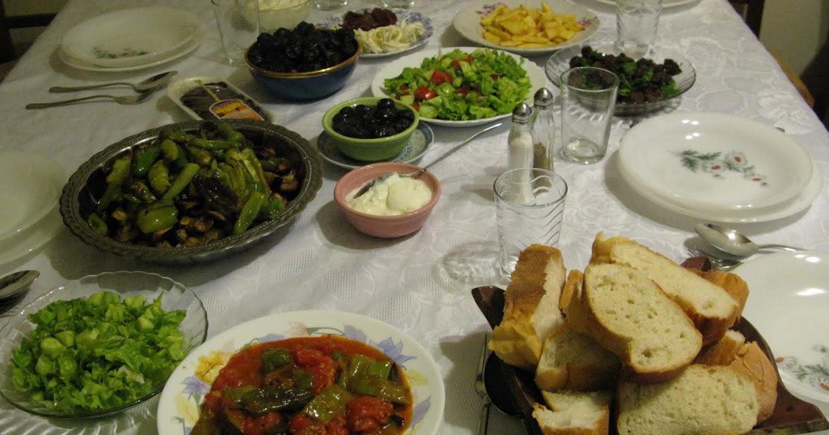 SeMaVeR: Annemin iftar menüsü