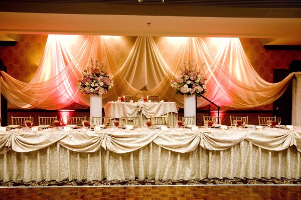 Wedding Head Table Fit for