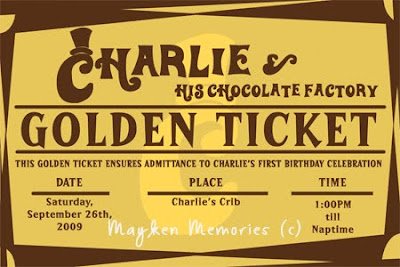 Charlie and the chocolate factory first golden ticket