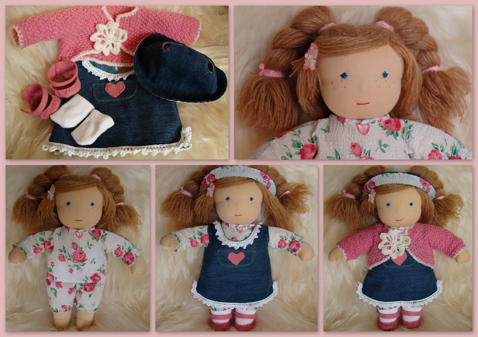 Игровые текстильные куклы для детей своими руками 79