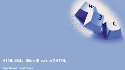 HTML Slidy