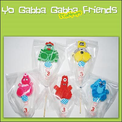 Yo gabba gabba stixnpops for Decor yo pops