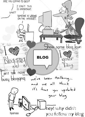 hidup seorang blogger