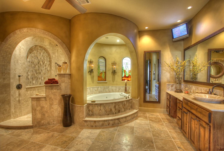 one of the best things about purchasing a new home in this day and age is that it will most certainly come with a luxury spa bath in the owners suite - Luxury Master Bathroom Suites