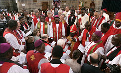 Anglican consecrations in Kenya (photo by Antony Njuguna, Reuters)