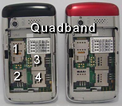 quadband quadruple sim card cellphone mobile phone philippines