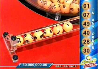 Lotto 6/55, Mega Lotto 6/45, 4 Digit, Swertres and 2 Digit lotto draws