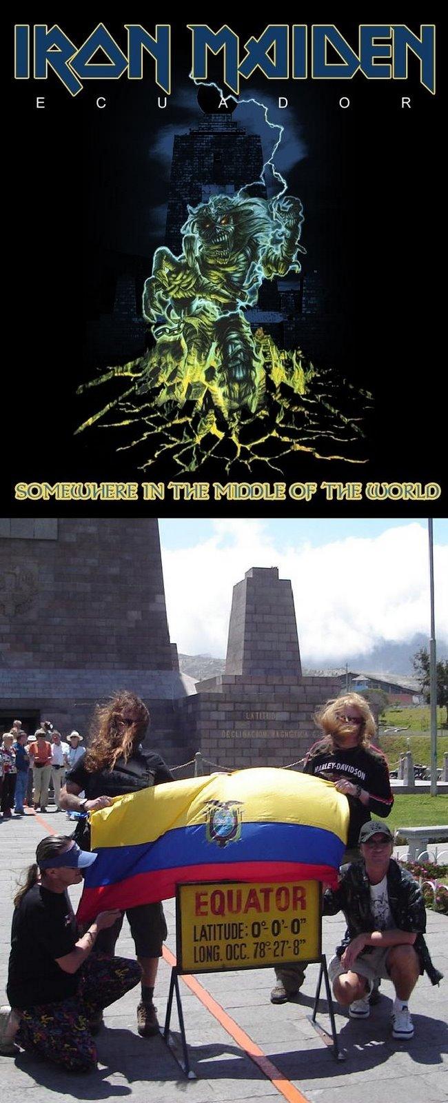 Iron Maiden Ecuador