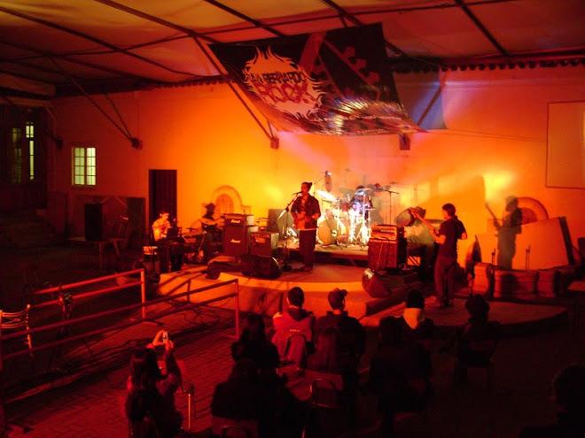 San Bernardo Rock en Casa de la Cultura