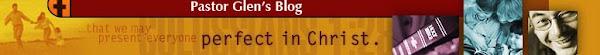 Pastor Glen's Blog