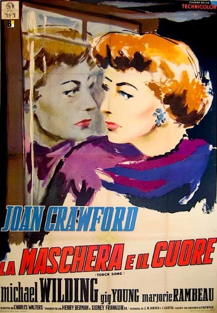 TORCH SONG starring JOAN CRAWFORD