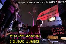 Foro Internacional contra la violencia y la militarización