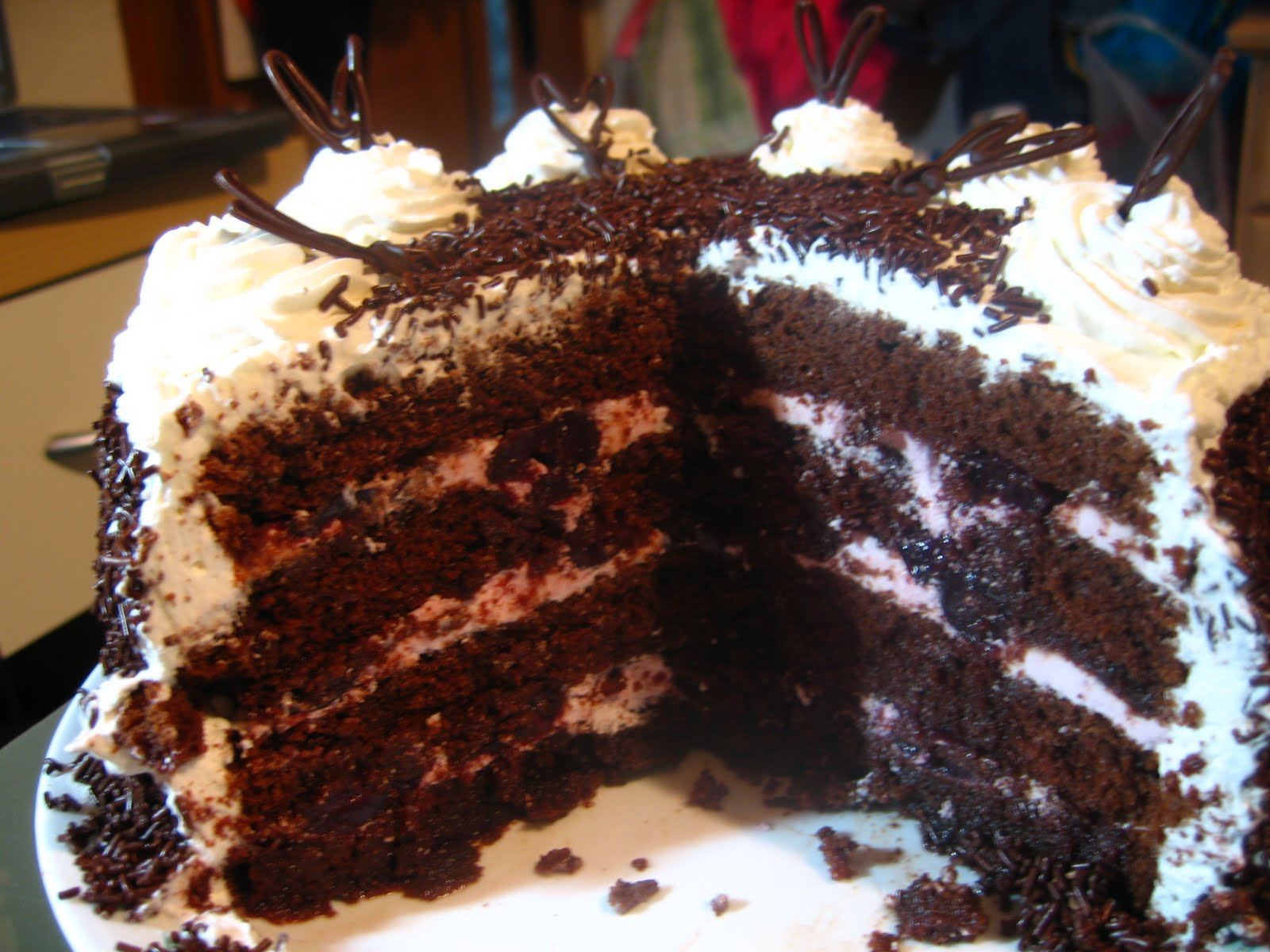 Black Forest Cake From A Mix