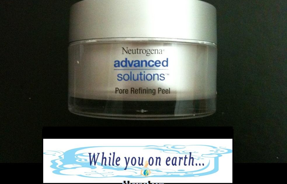 The neutrogena advanced solutions facial peel