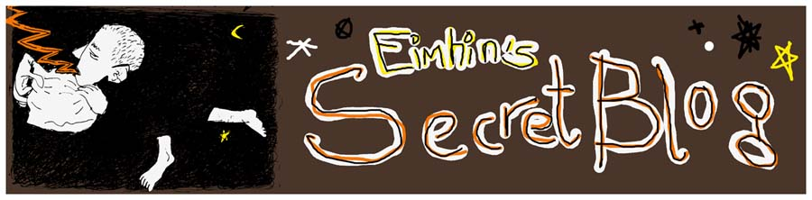 Eimhin's secret blog