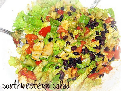 Southwestern Salad with Chipotle Lime Grilled Chicken