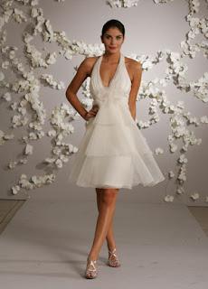 a white WeddinGo wedding gown
