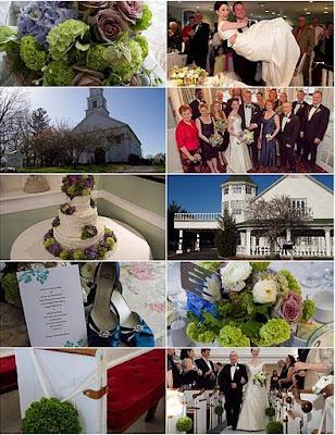 10-photo wedding collage