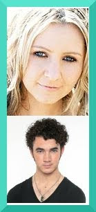 Headshots of Beverly Mitchell and Kevin Jonas