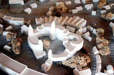 Town Hall Bensberg - Model