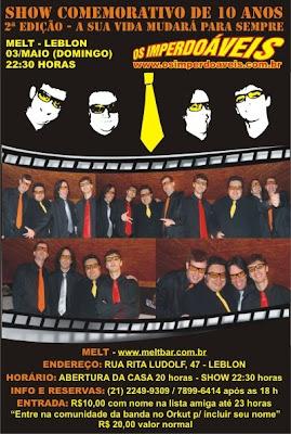 03 maio domingo melt leblon http www meltbar com br