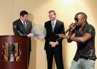 Kanye Letting R-Fed Finish