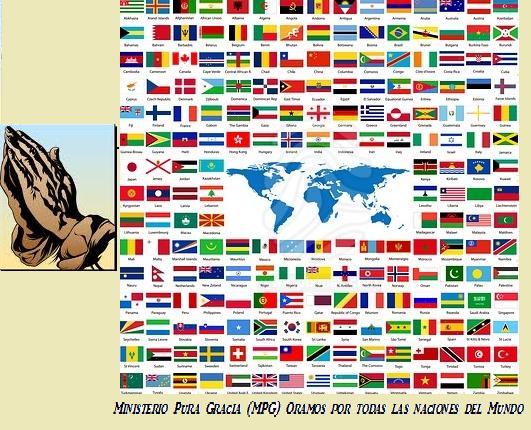 Oremos por todas las Naciones del Mundo...