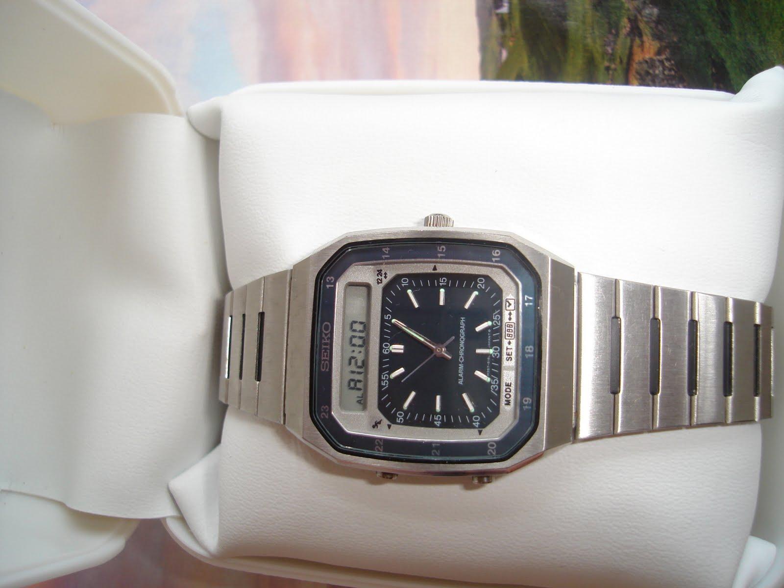 vintage watches vintage seiko chrono digital sold