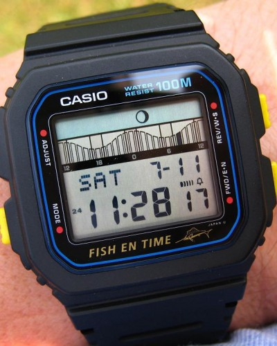 Casio fishing watch for Casio fishing watch