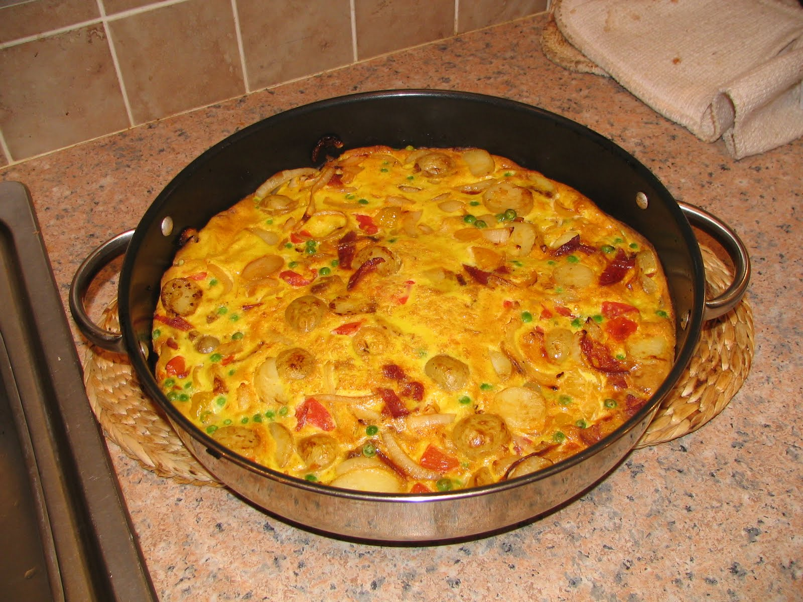 Mark's Veg Plot: Spanish-esque omelette
