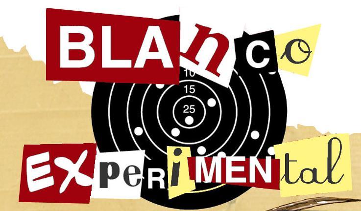 Portadista para Blanco Experimental: Compilado de Comic Experimental Contemporáneo